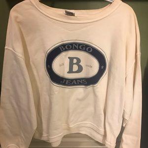 Women's vintage bongo sweatshirt